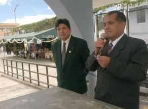 Lic. Grimaldo Vasquez Tan, inaugura I Expoferia en penal de Huancas
