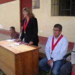 Instalacion Juzgado de Paz en Llactapampa