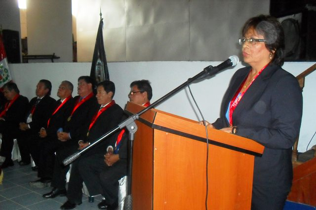 Dra. Luz Carolina Vigil, Presidenta Poder Judicial Amazonas
