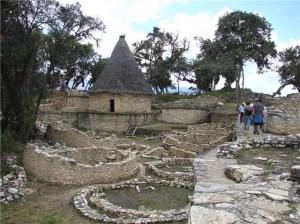 Ciudad fortificada de Kuelap en Amazonas.