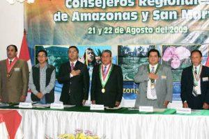 Consejores Regionales de San Martín y Amazonas.