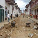 Trabajos de remodelación del jirón Amazonas