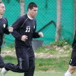 Hernán Rengifo entrena en su nuevo club