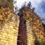 Entrada principal de la fortaleza de Kuélap