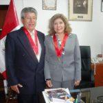 Presidenta de la Corte de Amazonas reincorporó al Dr. Delmiro Carrasco García como Juez Superior Titular