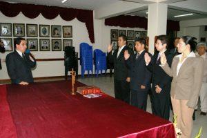 Juramentó nueva dirigencia de la ANP en Chachapoyas