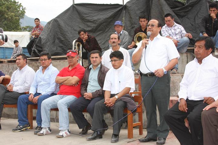 Complejo deportivo en Carapungo Rodríguez de Mendoza