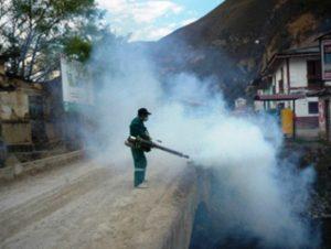 Fumigación para la prevención de la UTA