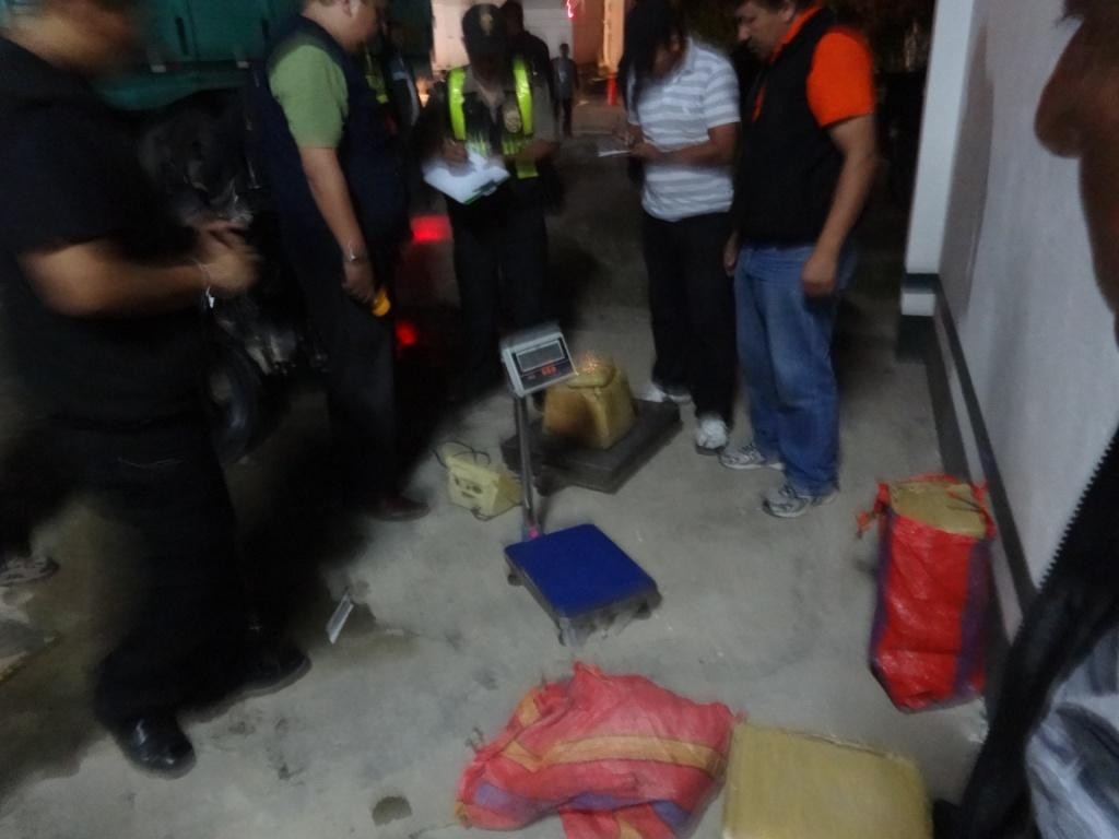 En Jazán: Policía nacional decomisa 72 Kilos de Pasta Básica de Cocaína (PBC)