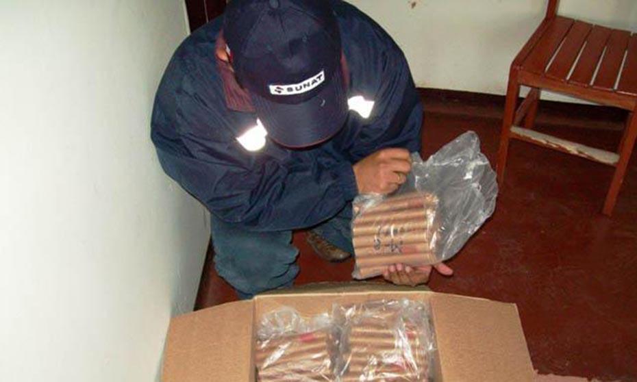 Sunat incautó 984 cartuchos de dinamita y 44 kilos de anfo de dudosa procedencia