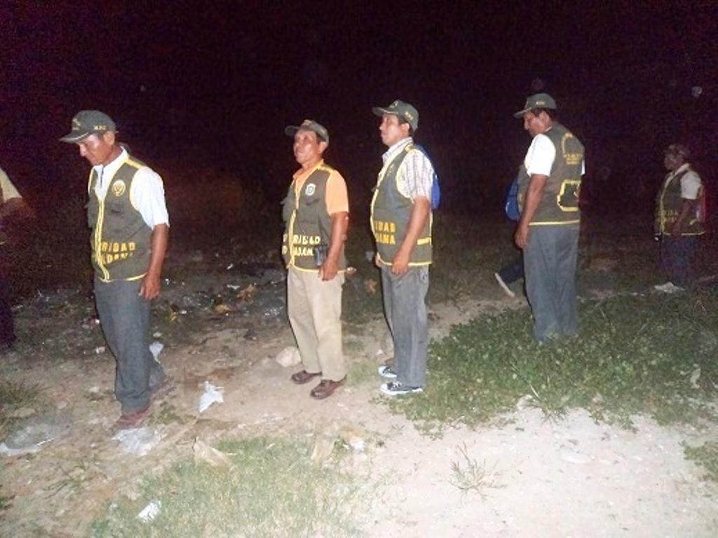 Reorganizan Junta Vecinal de Seguridad Ciudadana del Caserio Guayaquil en Aramango